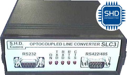 SLC3 Convertitore segnale 232 rs 485 422 da tavolo